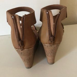 Payless Shoes - Tan / Brown Wedges
